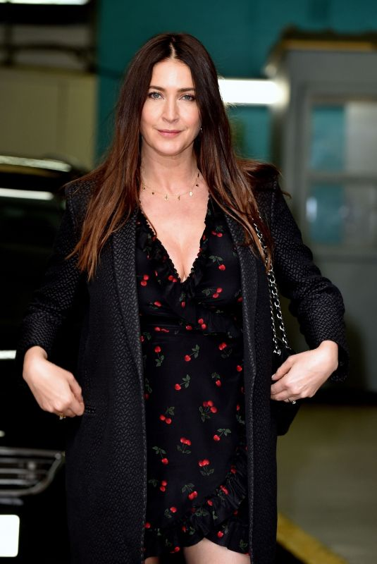 LISA SNOWDON Arrives at This Morning Show in London 03/22/2018