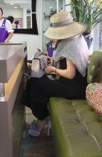 LISA VANDERPUMP at a Nail Salon in Beverly Hills 03/29/2018