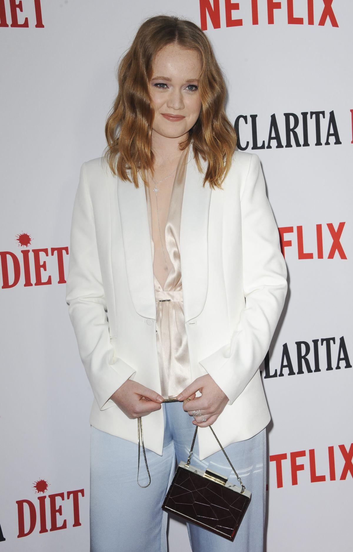 Liv Hewson At Santa Clarita Diet Season Premiere In Los Angeles