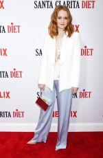 LIV HEWSON at Santa Clarita Diet Season 2 Premiere in Los Angeles 03/22/2018