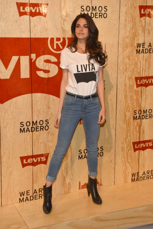 LIVIA BRITO at Levi's Store Opening in Mexico City 03/22/2018
