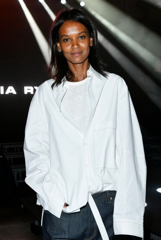 LIYA KEBEDE at Sonia Rykiel Fashion Show in Paris 03/03/2018