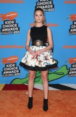 LIZZY GREENE at 2018 Kids' Choice Awards in Inglewood 03/24/2018