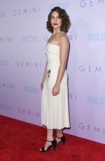 LOLA KIRKE at Gemini Premiere in Los Angeles 03/15/2018
