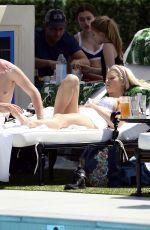 LOTTIE MOSS in Bikini on Vacation in Los Angeles 03/29/2018