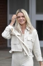LOUISA JOHNSON Out and About in Leeds 03/22/2018