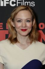 LOUISA KRAUSE at The Death of Stalin Premiere in New York 03/08/2018