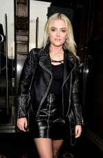 LUCY FALLON Out for Lunch at Rosso Restaurant in Manchester 03/30/2018