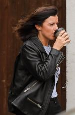 LUCY MECKLENBURGH Out for Lunch in Manchester 03/22/2018