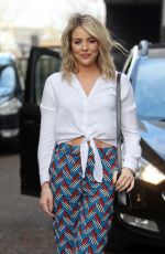 LYDIA BRIGHT Leaves ITV Studios in London 03/20/2018