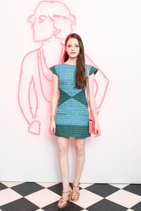 MACKENZIE FOY at Chanel Pre-Oscars Event in Los Angeles 02/28/2018