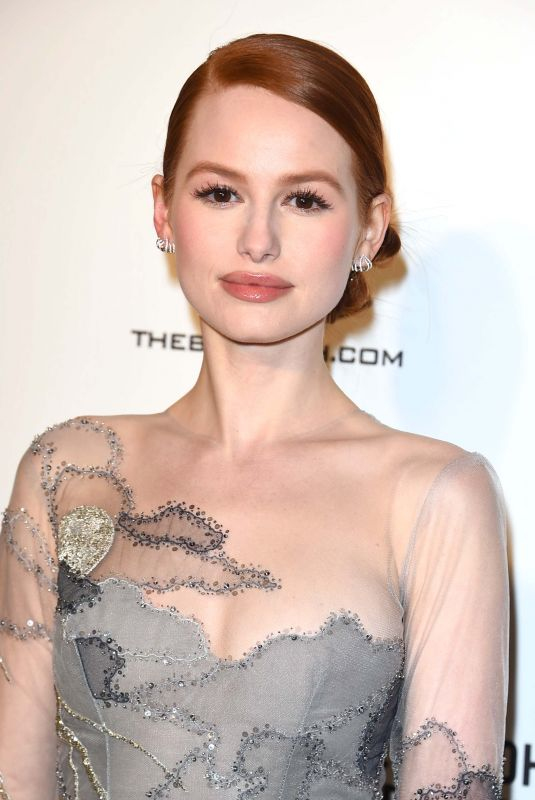 MADELAINE PETSCH at Elton John Aids Foundation Academy Awards Viewing Party in Los Angeles 03/04/2018