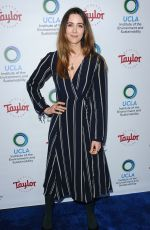 MADELINE ZIMA at Ucla's Institute of the Environment and Sustainability Gala in Los Angeles 03/22/2018