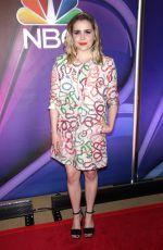 MAE WHITMAN at NBC Midseason Press Junket in New York 03/08/2018