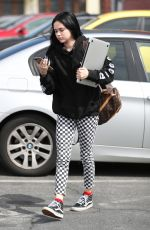 MAGGIE LINDEMANN Arrives at a Studio in Los Angeles 03/17/2018