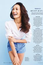 MAGGIE Q in Health Magazine, April 2018