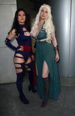 MAITLAND WARD at Wondercon 2018 in Anaheim 03/25/2018