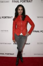 MALIKA SHERAWAT at Final Portrait Screening in Los Angeles 03/19/2018