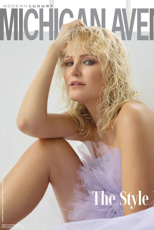 MALIN AKERMAN in Michigan Avenue Magazine, Spring/Summer 2018