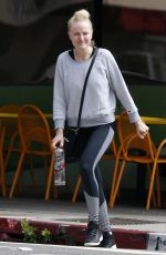 MALIN AKERMAN Out for Breakfast in Los Angeles 03/23/2018
