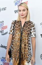 MARGOT ROBBIE at 2018 Film Independent Spirit Awards in Los Angeles 03/03/2018