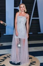 MARGOT ROBBIE at 2018 Vanity Fair Oscar Party in Beverly Hills 03/04/2018