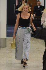 MARGOT ROBBIE at Airport in Sydney 03/16/2018