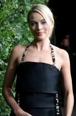 MARGOT ROBBIE at Charles Finch and Chanel Pre-oscar Dinner in Los Angeles 03/03/2018