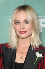 MARGOT ROBBIE at Women in Film Pre-oscar Cocktail Party in Los Angeles 03/02/2018