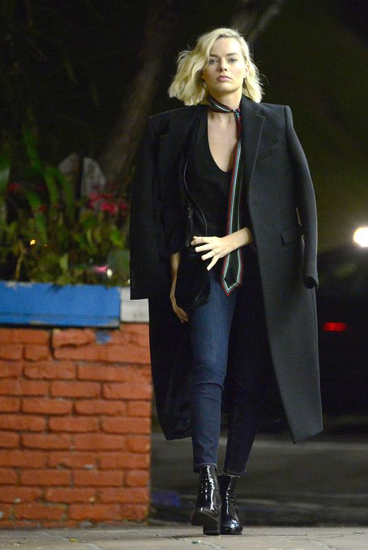 MARGOT ROBBIE Out in Hollywood 03/08/2018