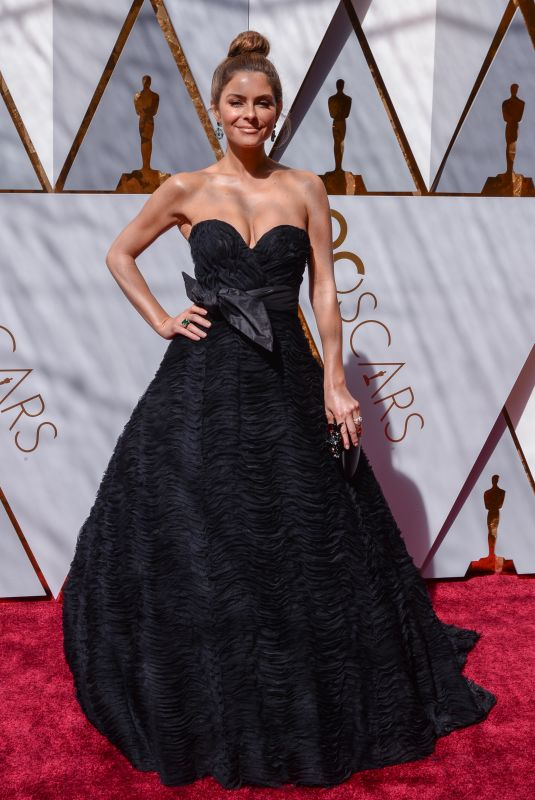 MARIA MENOUNOS at 90th Annual Academy Awards in Hollywood 03/04/2018