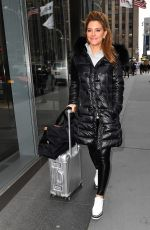 MARIA MENOUNOS Out in New York 03/20/2018