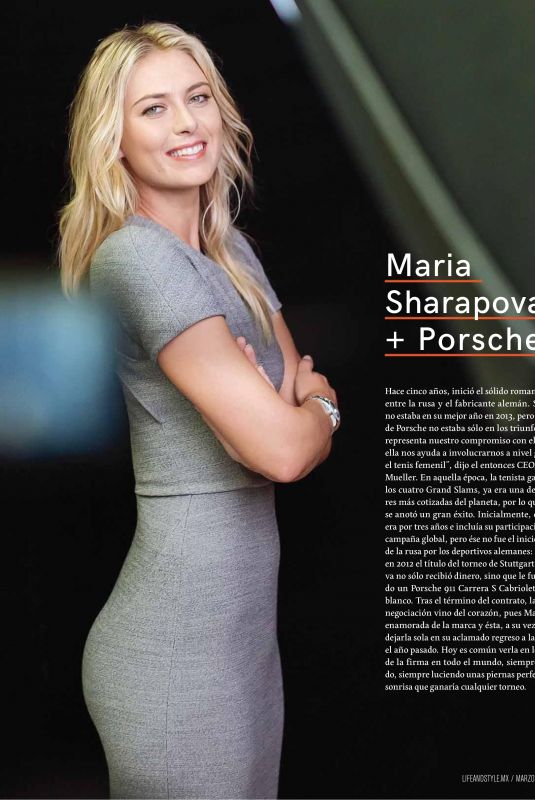 MARIA SHARAPOVA in Life & Style Magazine, March 2018