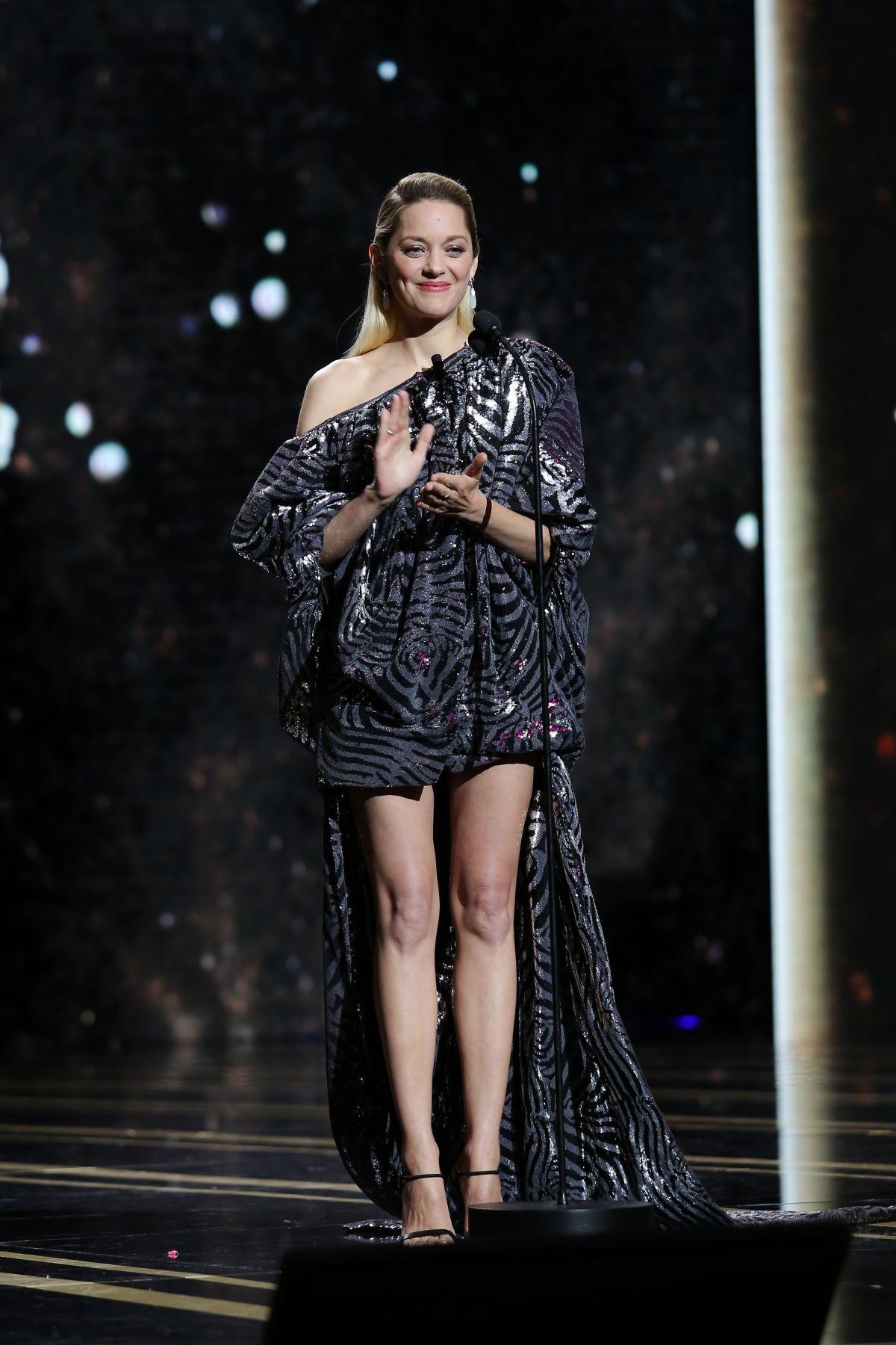 MARION COTILLARD at 2018 Cesar Film Awards in Paris 03/02 ...