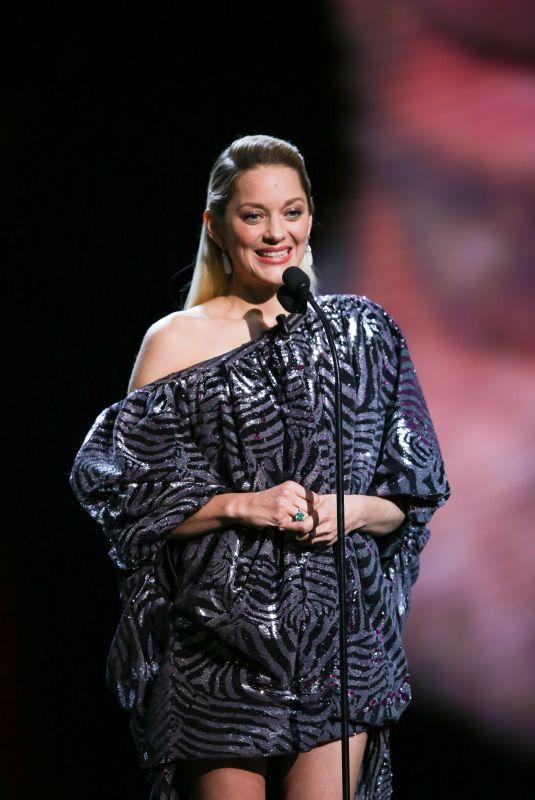 MARION COTILLARD at 2018 Cesar Film Awards in Paris 03/02/2018