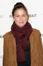 MAURA TIERNEY at Final Portrait Screening at Guggenheim Museim in New York 03/22/2018