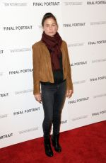 MAURA TIERNEY at Final Portrait Screening at Guggenheim Museim in New York 03/22/2018