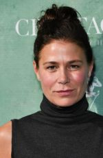MAURA TIERNEY at Women in Film Pre-oscar Cocktail Party in Los Angeles 03/02/2018