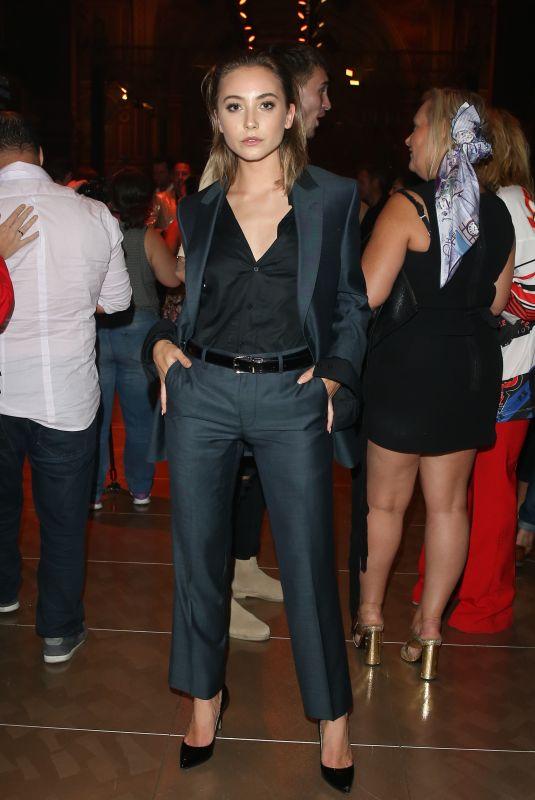 MAVOURNEE HAZEL at GQ Mens Fashion at Virgin Australia Melbourne Fashion Festival 03/09/2018