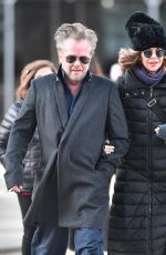 MEG RYAN Out in New York 03/19/2018