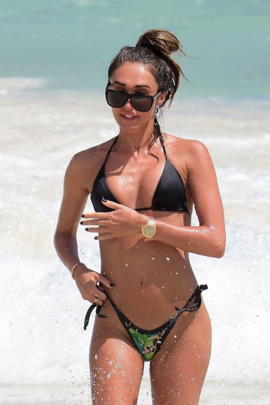 MEGAN MCKENNA in Bikini at a Beach in Barbados 03/23/2018