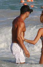 MEGAN MCKENNA in Bikini on the Beach in Barbados 03/22/2018