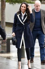 MEGHAN MARKLE at Her First Royal Visit to Birmingham 03/08/2018