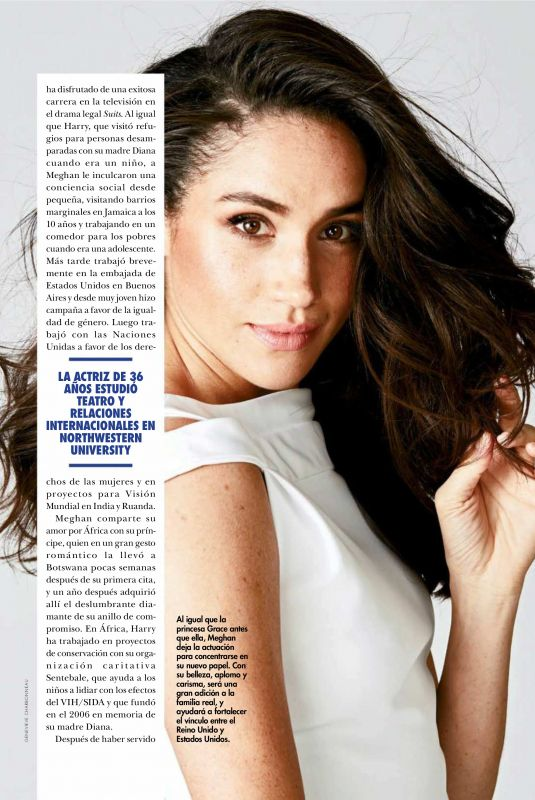 MEGHAN MARKLE in Hola! Magazine, April 2018 Issue