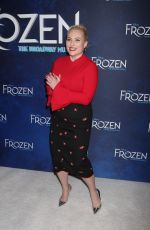 MEGHAN MCCAIN at Frozen Musical Opening Night in New York 03/20/2018