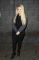 MEGHAN TRAINOR Arrives at Sport Relief at Media City in Salford 03/23/2018