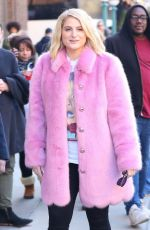 MEGHAN TRAINOR Out and About in New York 03/06/2018