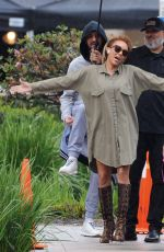 MELANIE BROWN Arrives at America