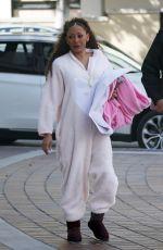 MELANIE BROWN Arrives on the Set of America