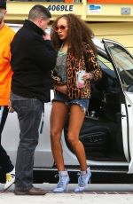 MELANIE BROWN Arrives on the Set of America's Got Talent in Pasadena 03/18/2018